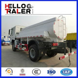 디젤 엔진 6X4 포좌 탄소 강철 연료 유조 트럭 20000L 336HP