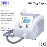 ND YAGレーザーの入れ墨の取り外し機械美容院装置の価格