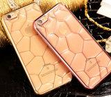 Случай вспомогательного оборудования мобильного телефона iPhone 6 аргументы за крышки края TPU золота горячего случая телефона кубика 3D воды нового продукта противоударный Electroplated