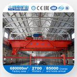 75/20ton 100/20tonの二重ガード橋天井クレーン