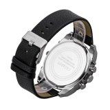 人の二重動き日本のための多機能の水晶腕時計