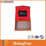 Rectángulo de regalo del papel de embalaje de la visualización de la cartulina