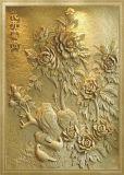 Pietra 3D per il granito di taglio dell'incisione, pietra, mattonelle, marmo del router 1325 di CNC
