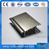 Perfis de alumínio da extrusão da eletroforese rochosa para Windows deslizante