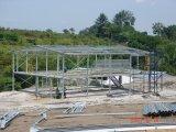 Прямые стороны и пакгауз стальной структуры круглой крыши Prefab (KXD-105)