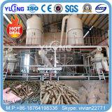 A madeira da biomassa granula a linha de produção na venda (1-10T/H)