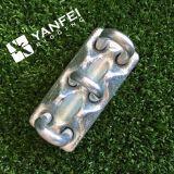 Clip triple galvanisé de câble métallique