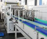 애완 동물 물병을%s 자동적인 고속 플레스틱 필름 열 수축 감싸는 기계