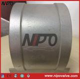 Тип одиночный задерживающий клапан вафли подъема диска (H71)