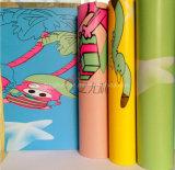 PVCビニールのフロアーリングロールか幼稚園または一義的なビニールのフロアーリング