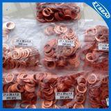Anillo de cierre del cobre de la arandela del cobre de la junta de cobre