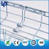 Bandeja de cabo galvanizada do engranzamento de fio do aço inoxidável do MERGULHO quente