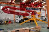 заграждение польностью гидровлического спайдера 18m конкретное устанавливая при трейлер 4 колес приспосабливая ' конструкция контейнера ot 40