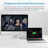Neuer Typ c-Kabel Ankunft USB-3.1 mit E-Markierung und Energien-Anlieferung