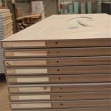 Portes supérieures de PVC de conception, portes en verre en bois de HDF (SC-P057)