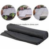 Tela preta plástica da tampa à terra de China