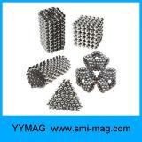 Bunte NdFeB D3mm D5mm magnetische Raupen/Kugeln