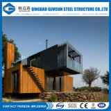 O baixo custo pré-fabricou a base de beliche elegante do metal do projeto da mobília da casa do recipiente
