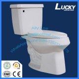 Twyford Siphonic Falle der Toiletten-S zwei Stücke Arbeitskarte-Toiletten-