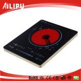 CB / CE / EMC Aprobación Ultra Thin Single Touch Infrared Cocina