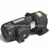 réducteur horizontal de vitesse adapté par 28mm à C.A. de moteur de diamètre de l'arbre 0.4kw petit