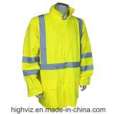 ANSI107 증명서를 가진 사려깊은 안전 우천용 의류 (RW-001)