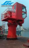 кран морского пехотинца палубы корабля костяшки 5t11m телескопичный