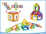 Brinquedos magnéticos dos blocos de apartamentos da sabedoria DIY do enigma dos brinquedos dos brinquedos educacionais do pacote 40PCS do russo