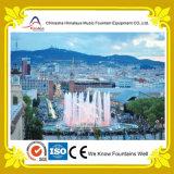 Fontaine ronde populaire de musique de l'eau de syndicat de prix ferme au grand dos de ville