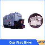Chaudière à vapeur alimentée en combustibles solides