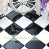 Плитка мозаики с нашивками в Black и белизна (WH-D673)