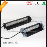 Green Color LED Car Security Intérieur Visor Dashlights