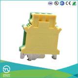 Conetor à terra terminal dos blocos 16mm2 da terra verde-amarela de Utl