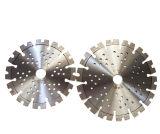 La circular del diamante vio la herramienta de corte de la lámina