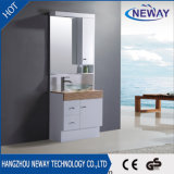 Пол - установленная ванная комната шкафа зеркала PVC водоустойчивая