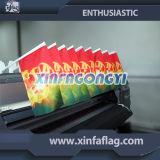 30X20cm kundenspezifische Entwurfs-kleine Auto-Markierungsfahnen-Fahnen
