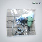 알루미늄 호일은 비닐 봉투를 포장하는 Zip 자물쇠 차를 위로 서 있다
