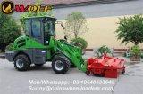 mini carregador articulado 910 Zl10 da roda 1t para a venda