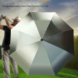 Deterioração e guarda-chuva UV resistente à corrosão do golfe de Silverback