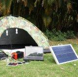 Gerador solar portátil com inversor para uso doméstico