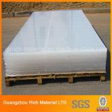 Tarjeta transparente del plexiglás PMMA del molde de la hoja de acrílico plástica clara