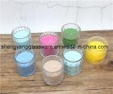 蝋燭のコップの/Candleのガラス瓶かホーム装飾または祝祭の装飾