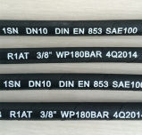 DIN En 853 SAE 100r1 One Wire Braid Hydraulic Hose