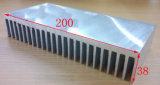 la longitud de aluminio del disipador de calor 200mm*38mm*200m m del perfil de la anchura de 200m m puede por encargo