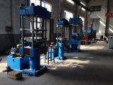 Pont soutenant la machine en caoutchouc de presse hydraulique
