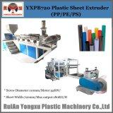 (Einzelne Schraube) Plastikdatei-Blatt-Strangpresßling-Maschine