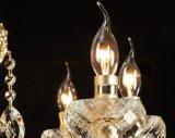 Candelabro de cristal com 8 o diodo emissor de luz Lights e Swarovski Crystal Pendent (ST-219-8)