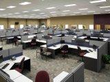 La mayoría del sitio de trabajo cómodo de la oficina para los muebles de oficinas con muebles de oficinas modificados para requisitos particulares