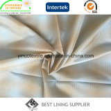 verificación de los tonos 100%Polyester dos/fábrica de la guarnición de la tela escocesa