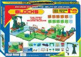 Juguete de las pistas de los bloques con el mejor material
